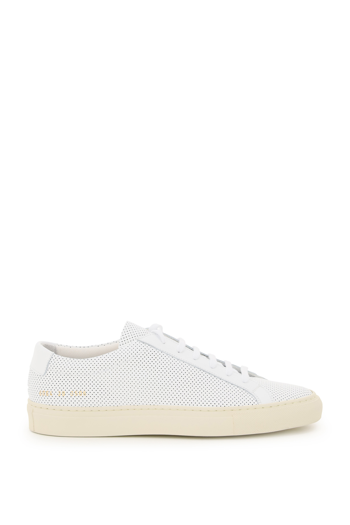 Common projects sneaker in pelle achilles low perforated