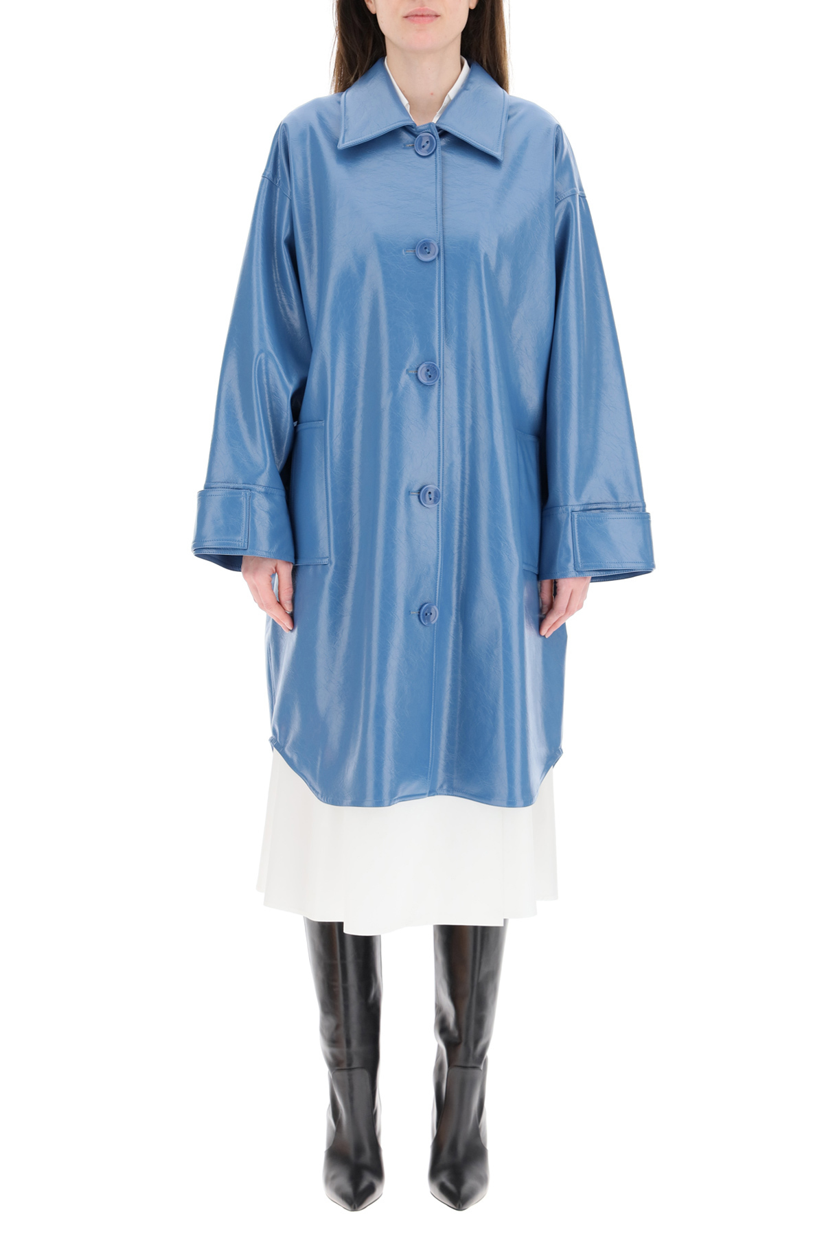 Stand cappotto kali ecopelle