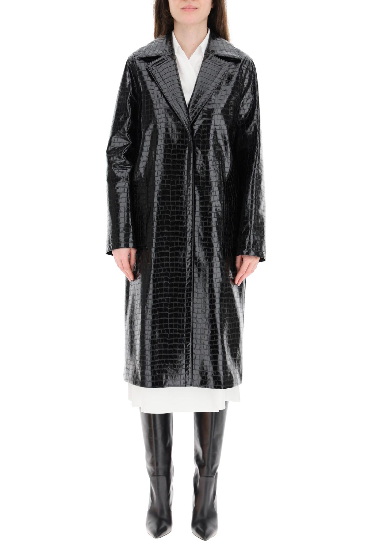 Stand cappotto emerson in ecopelle