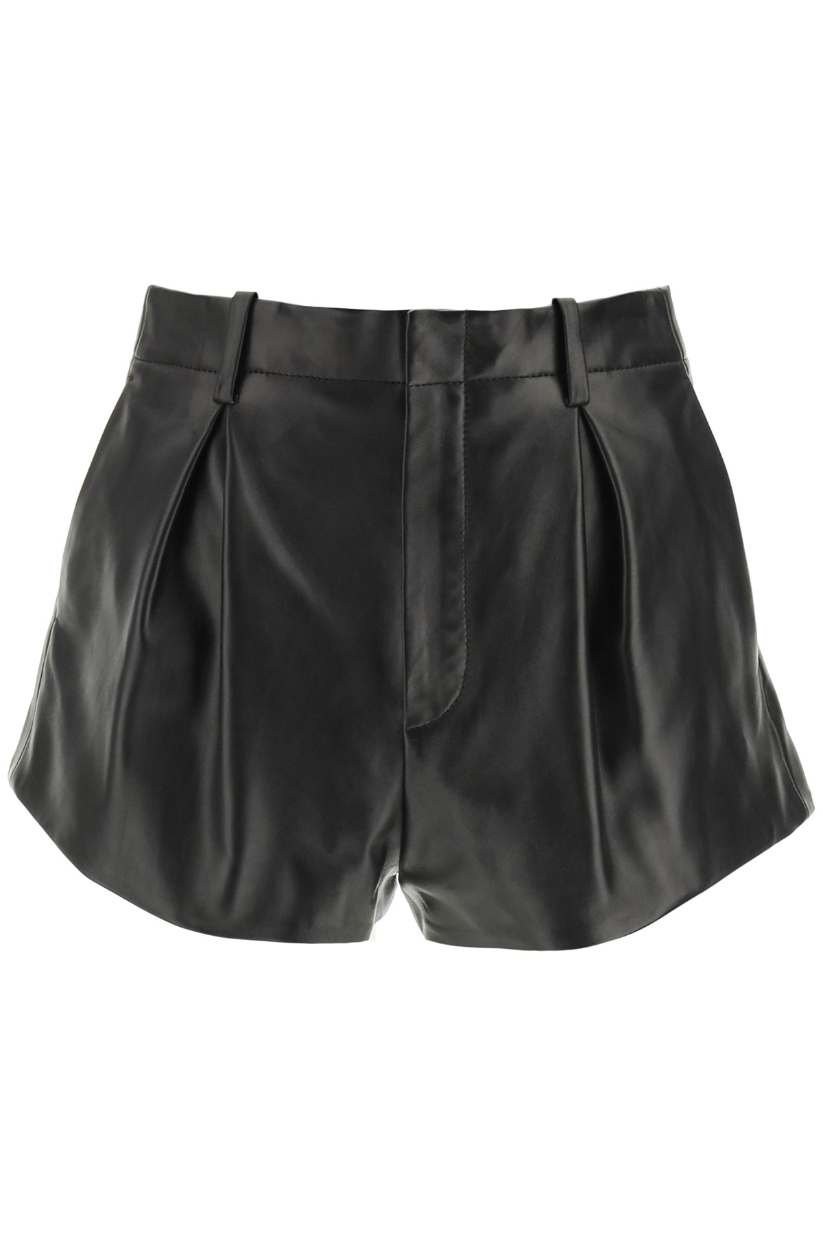 Saint laurent shorts in pelle