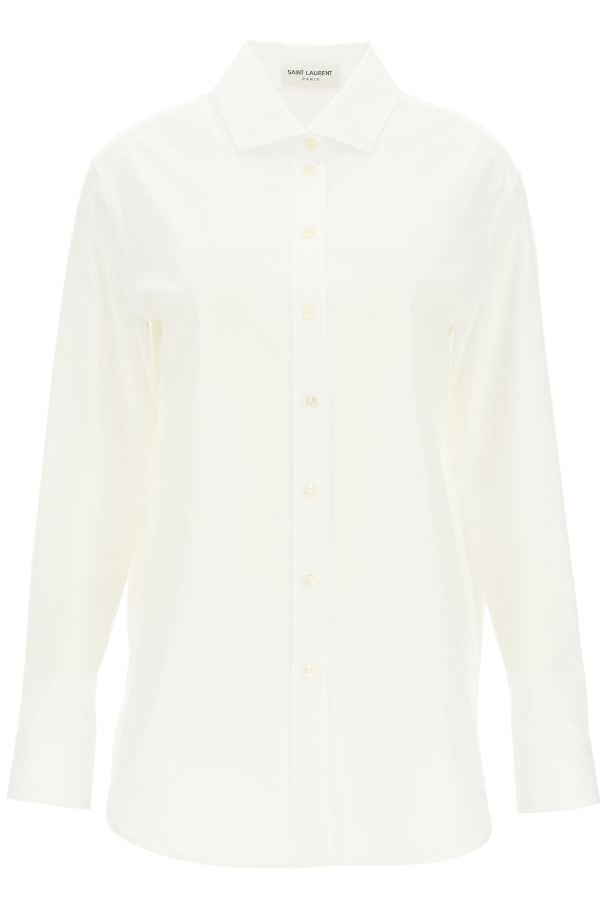 Saint laurent camicia oversize in cotone