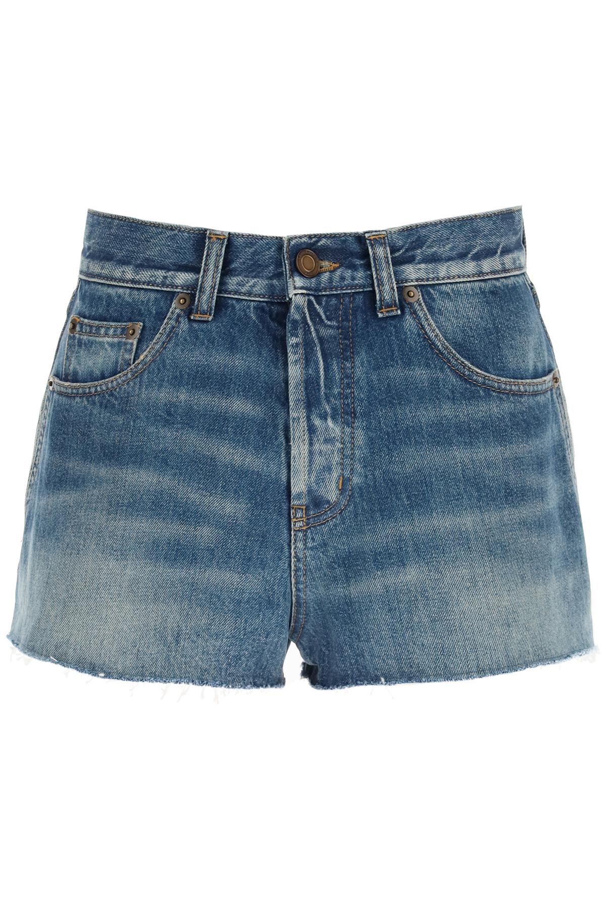 Saint laurent shorts in denim