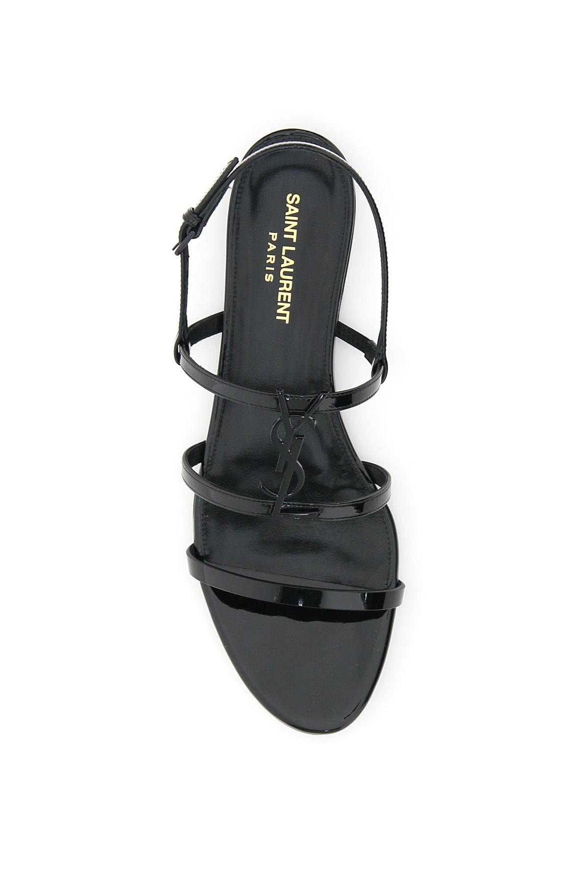 Saint laurent sandali ysl cassandra flat