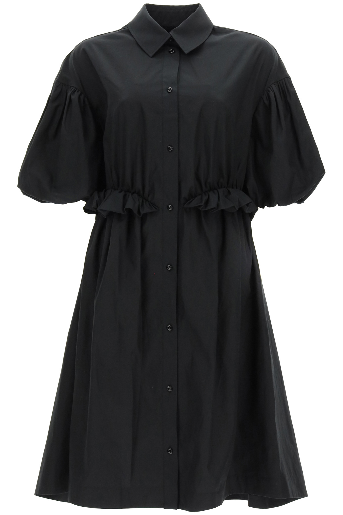Simone rocha abito chemisier oversize