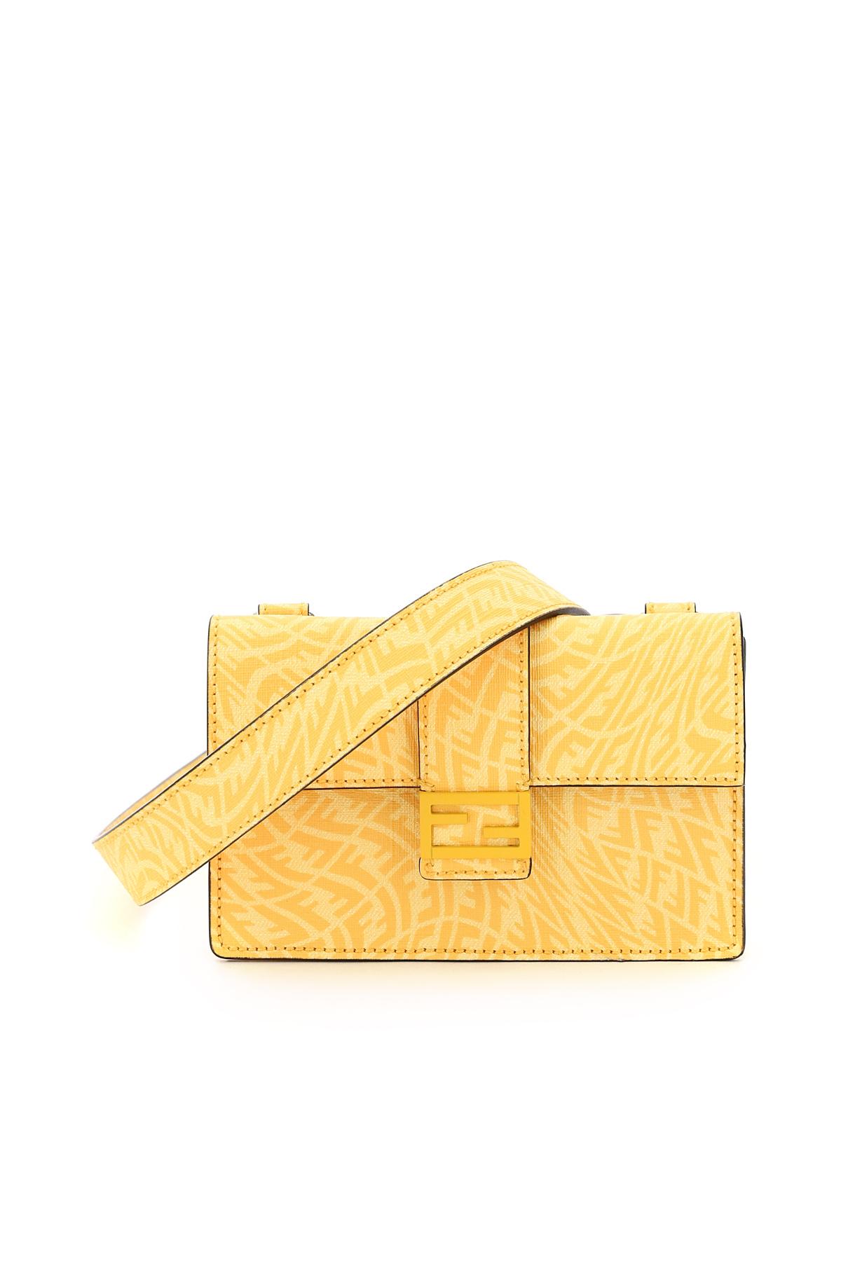 Fendi mini bag flat baguette ff vertigo