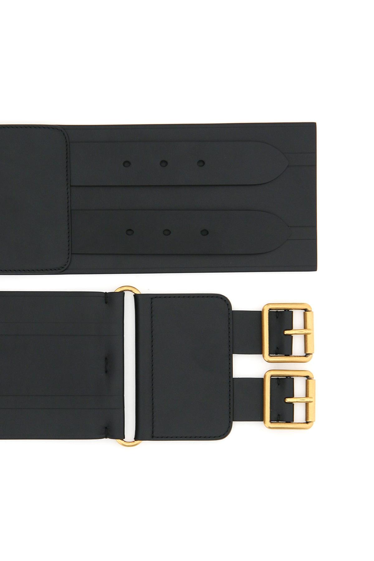 Dior cintura d-waist in pelle