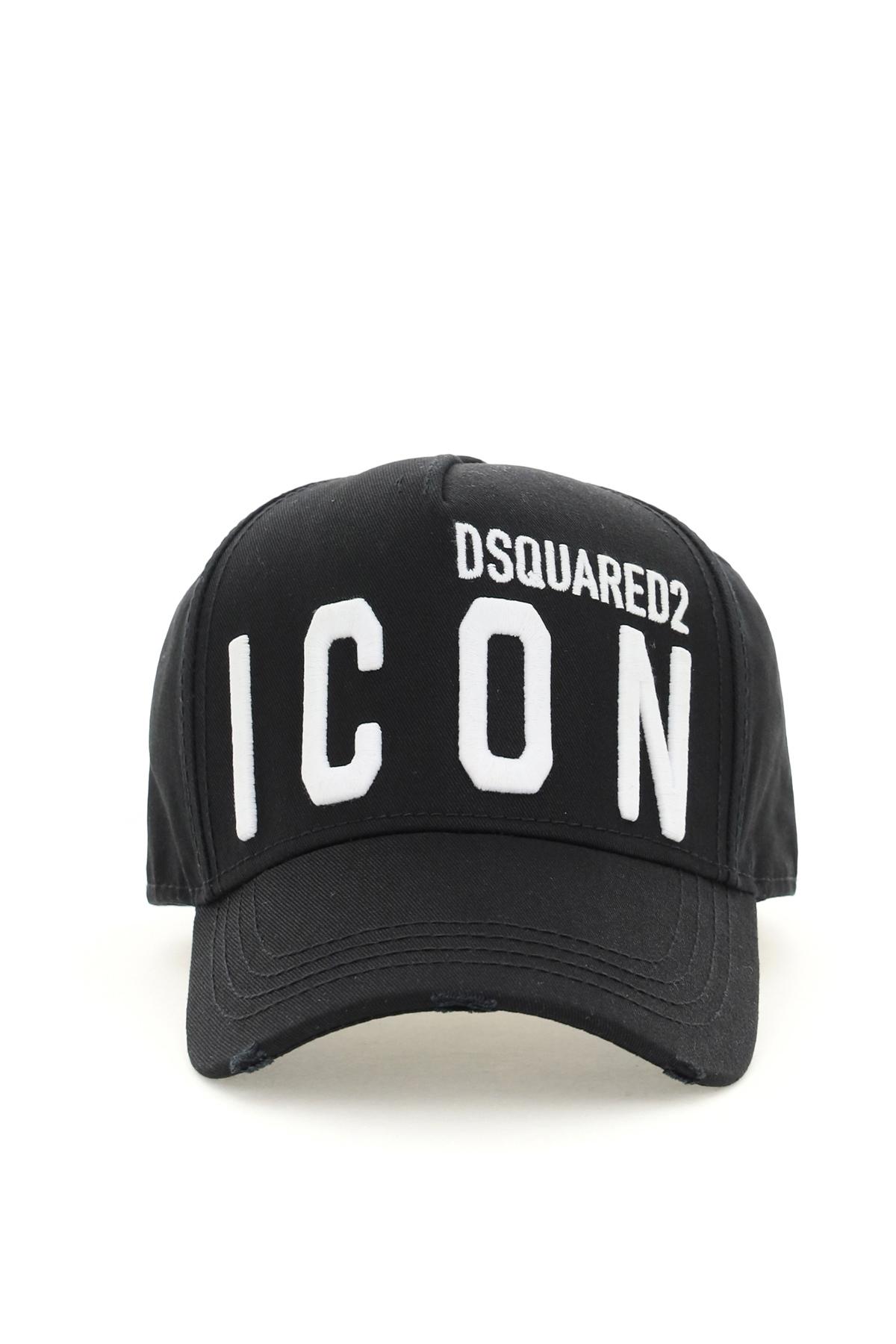 Dsquared2 cappello da baseball con logo