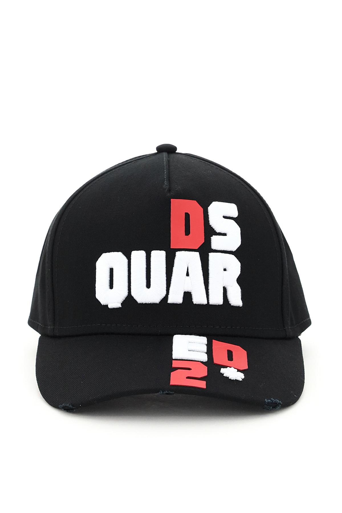 Dsquared2 cappello baseball d2 puzzle