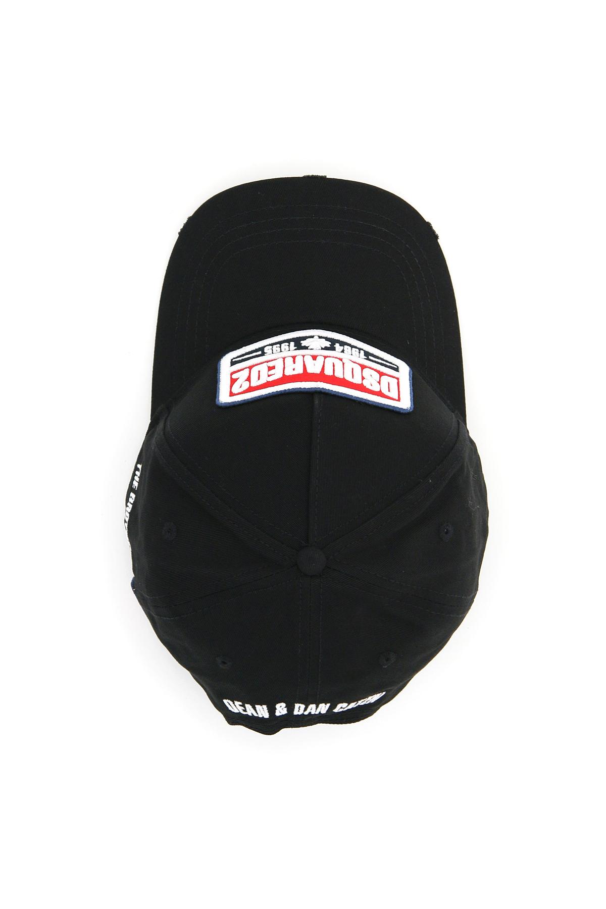 Dsquared2 cappello baseball dsquared2 logo