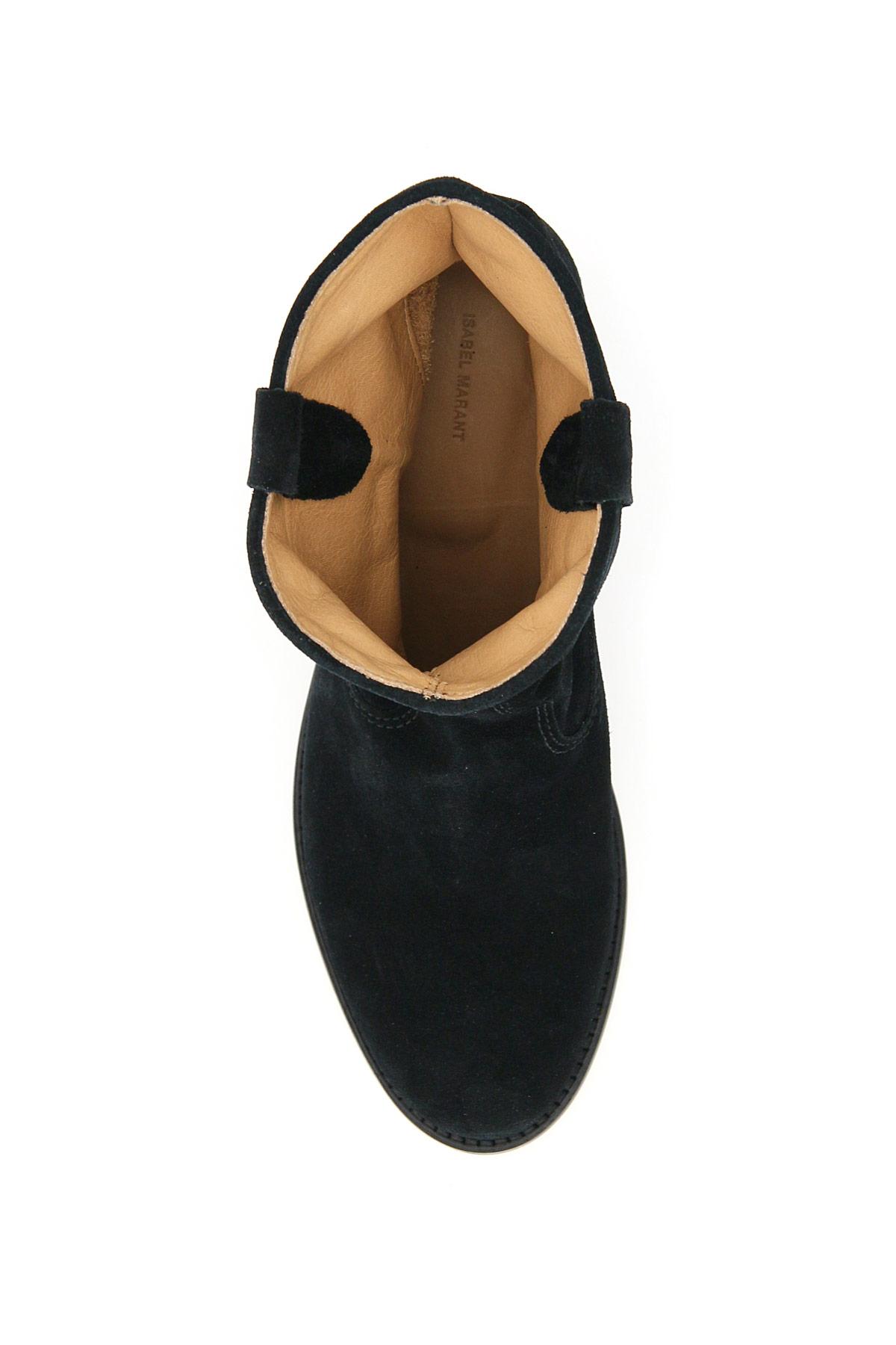 Isabel marant stivali ankle boots crisi