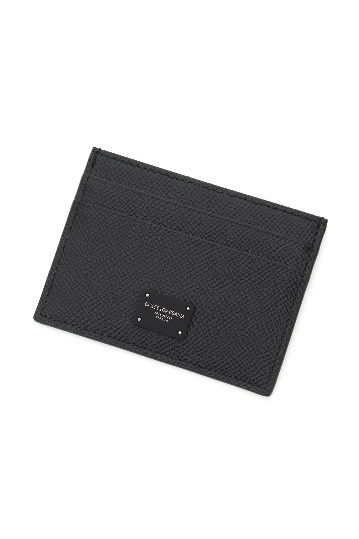 Dolce & gabbana porta carte di credito con logo