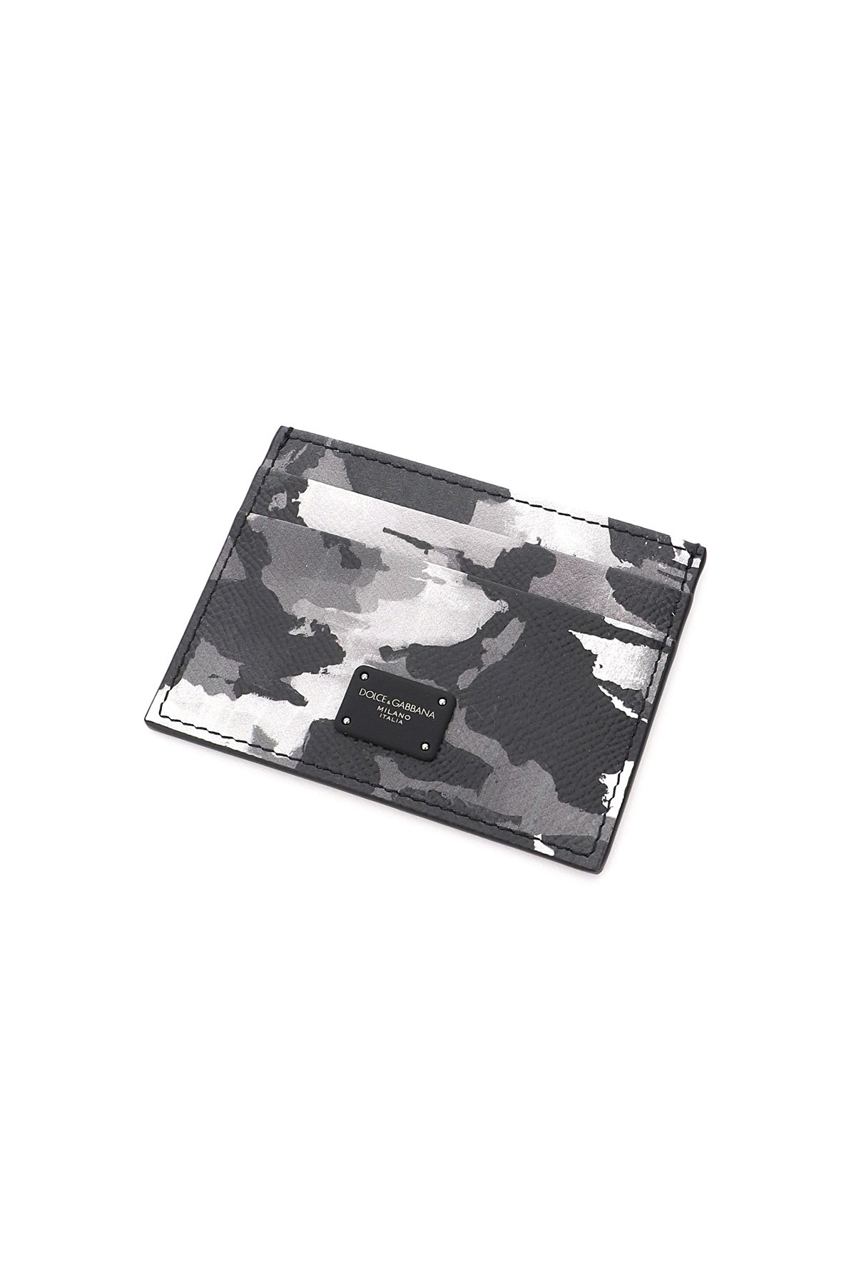 Dolce & gabbana portacarte stampa camouflage