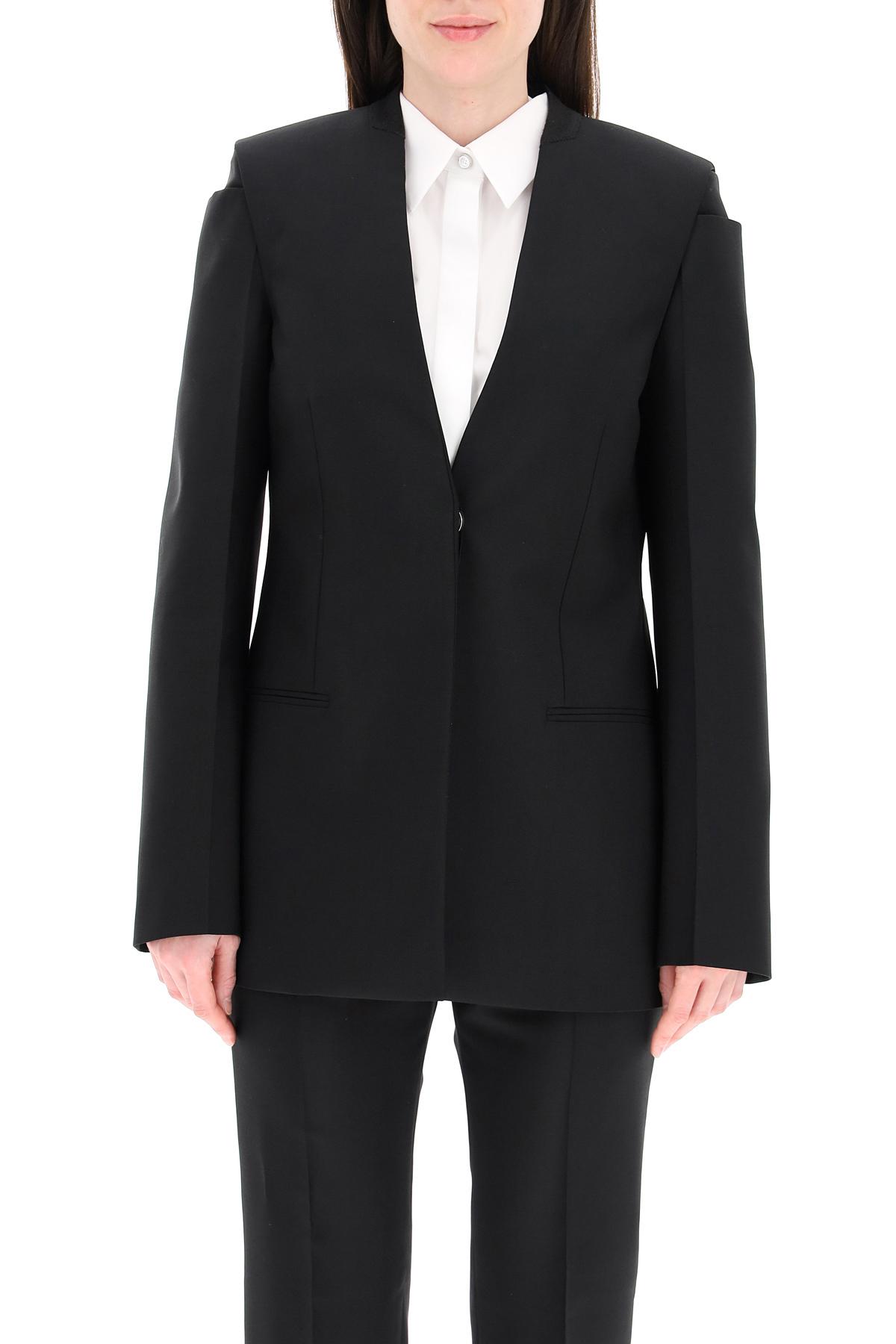 Givenchy blazer in lana e mohair