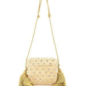 Lenine basket bag bx-00030 crystal natural carol