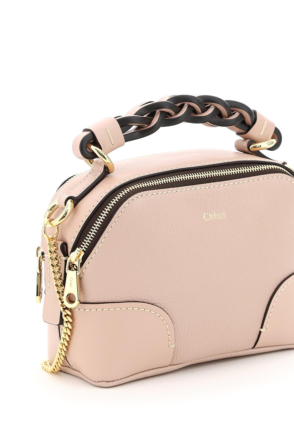 Chloe' borsa in pelle daria mini day bag