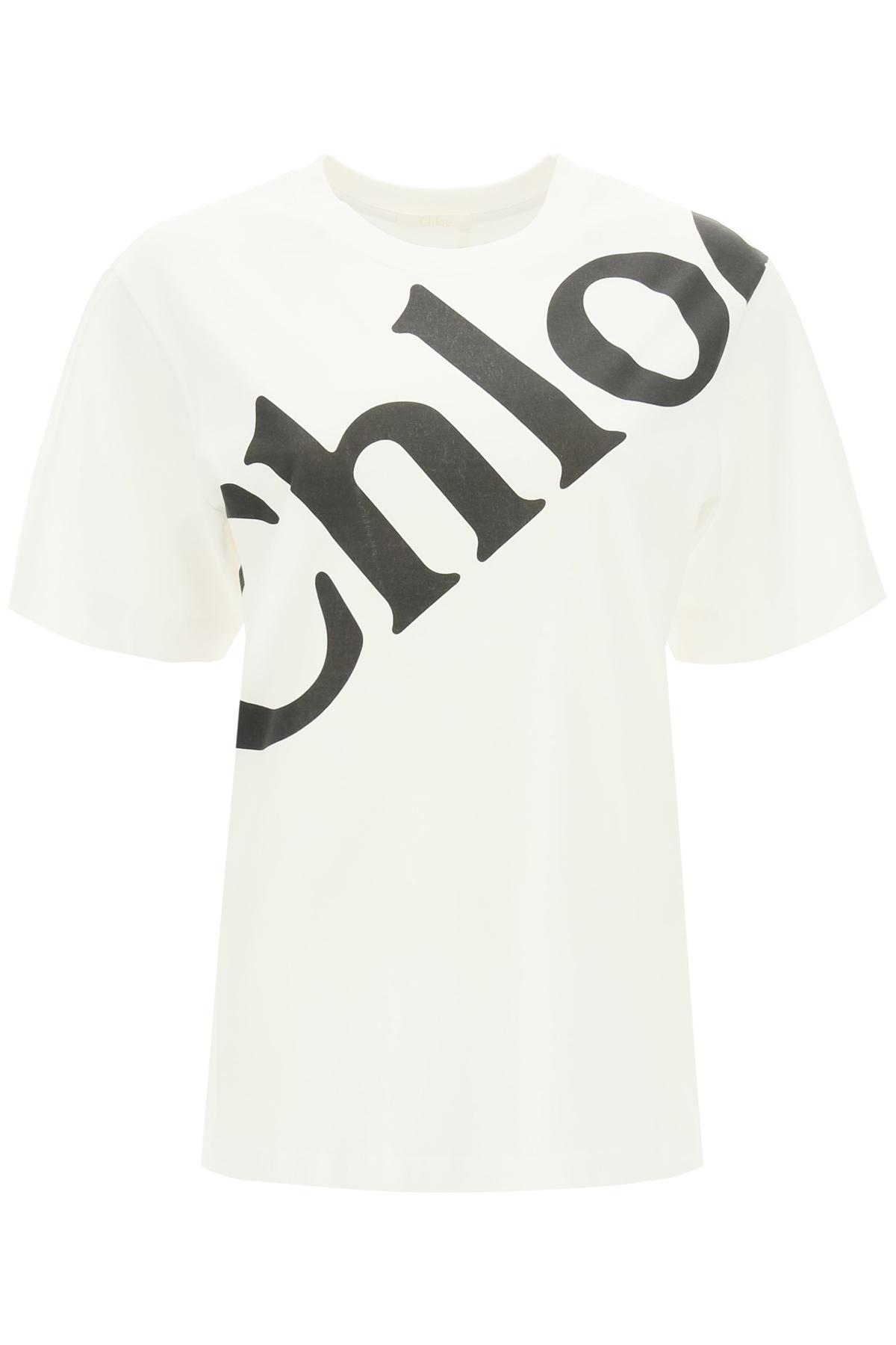 Chloe' t-shirt con logo