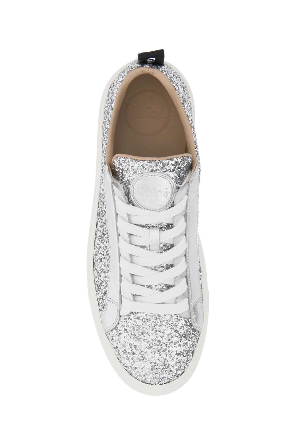 Chloe' sneakers glitter lauren
