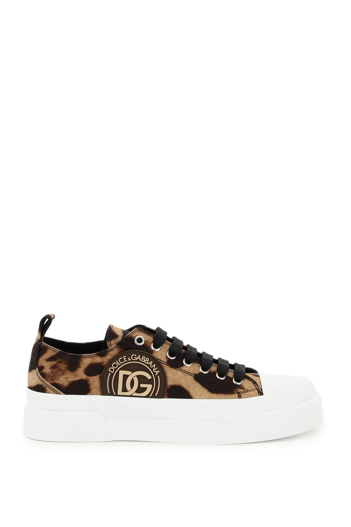 Dolce & gabbana sneakers portofino leopardata