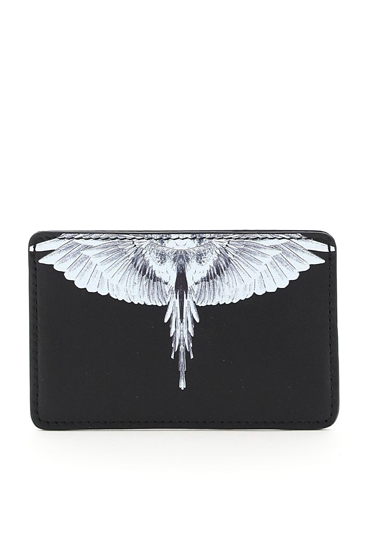 Marcelo burlon portacarte wings diagonal