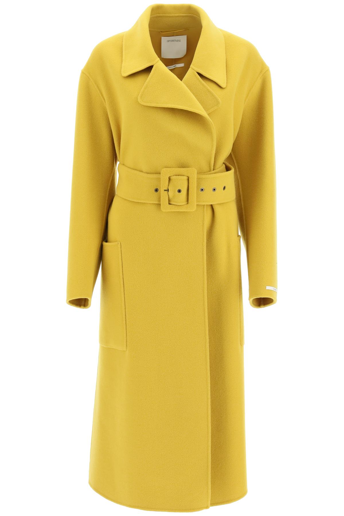 Sportmax cappotto oversize in lana