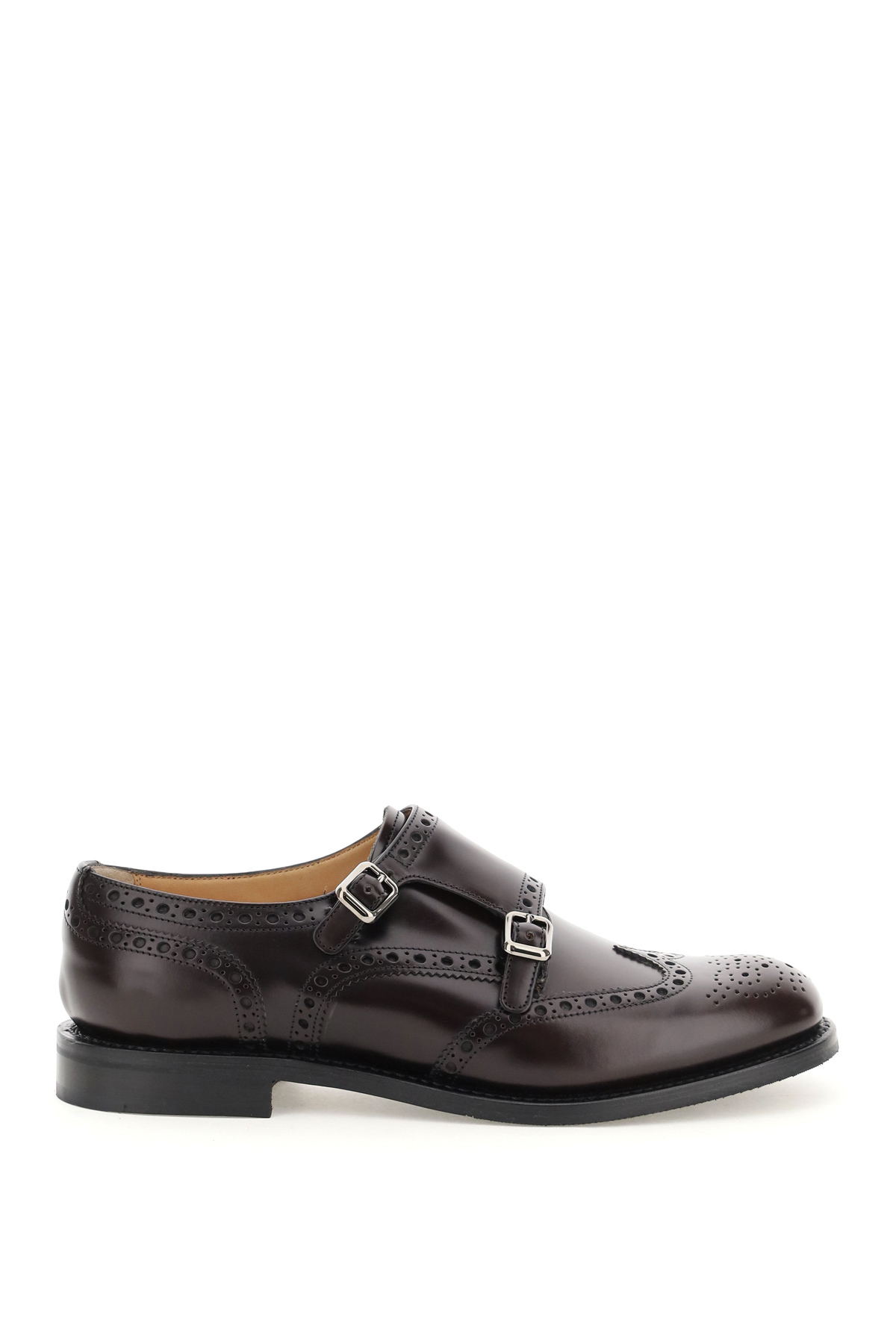 Church's scarpa lana r con doppio monk strap
