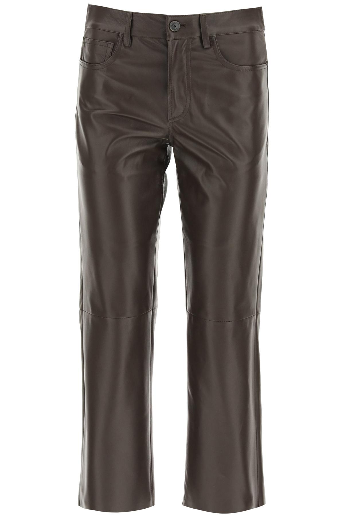 Drome pantaloni cinque tasche cropped