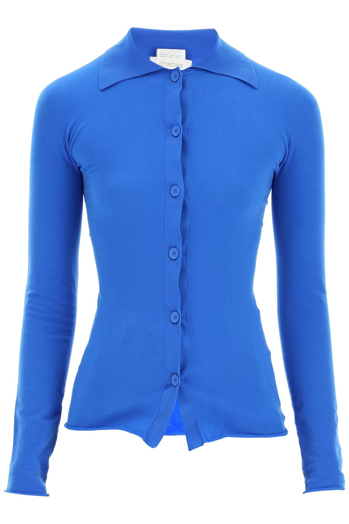 Sportmax camicia in jersey stretch