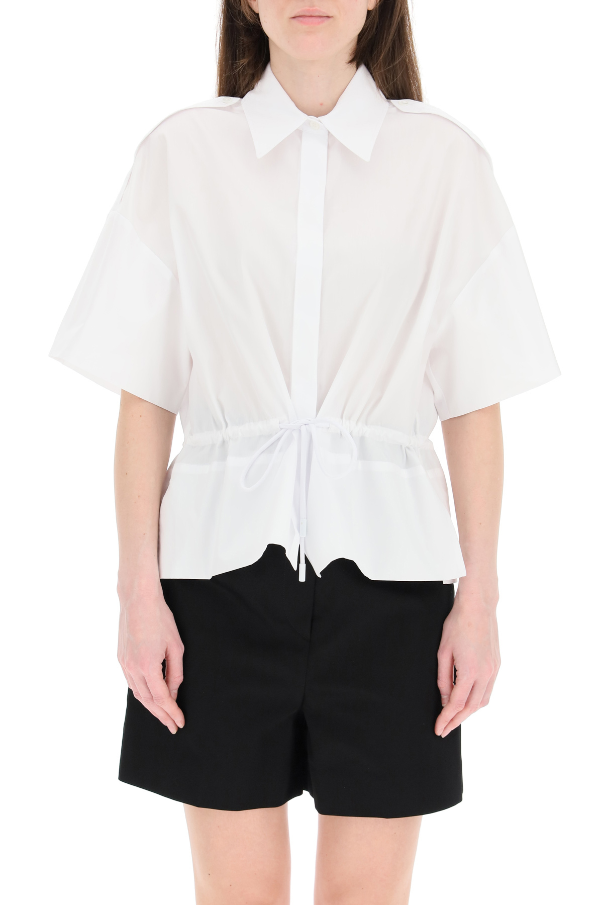 Sportmax camicia con coulisse