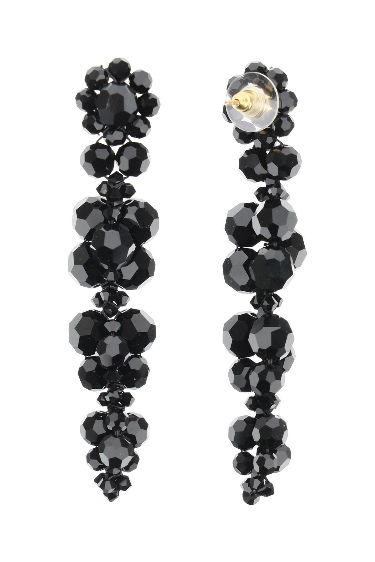 Simone rocha orecchini con cristalli