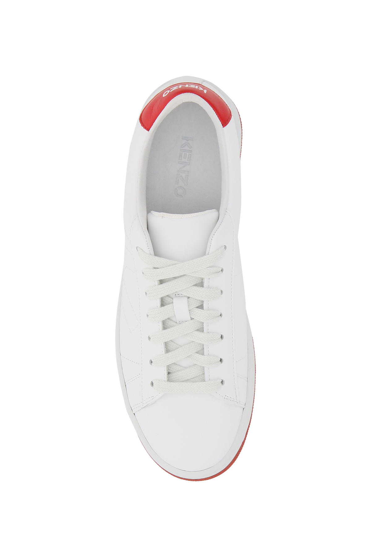 Kenzo sneakers in pelle kenzo kourt