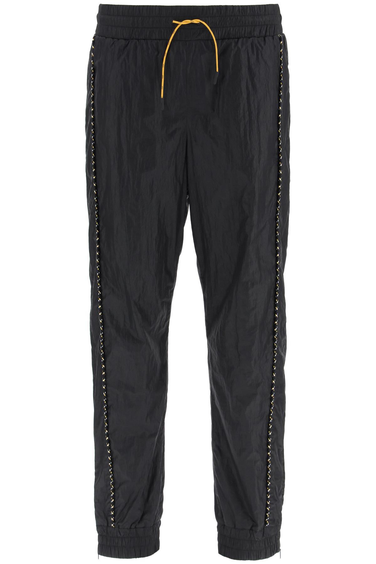 Fendi pantaloni jogging in nylon