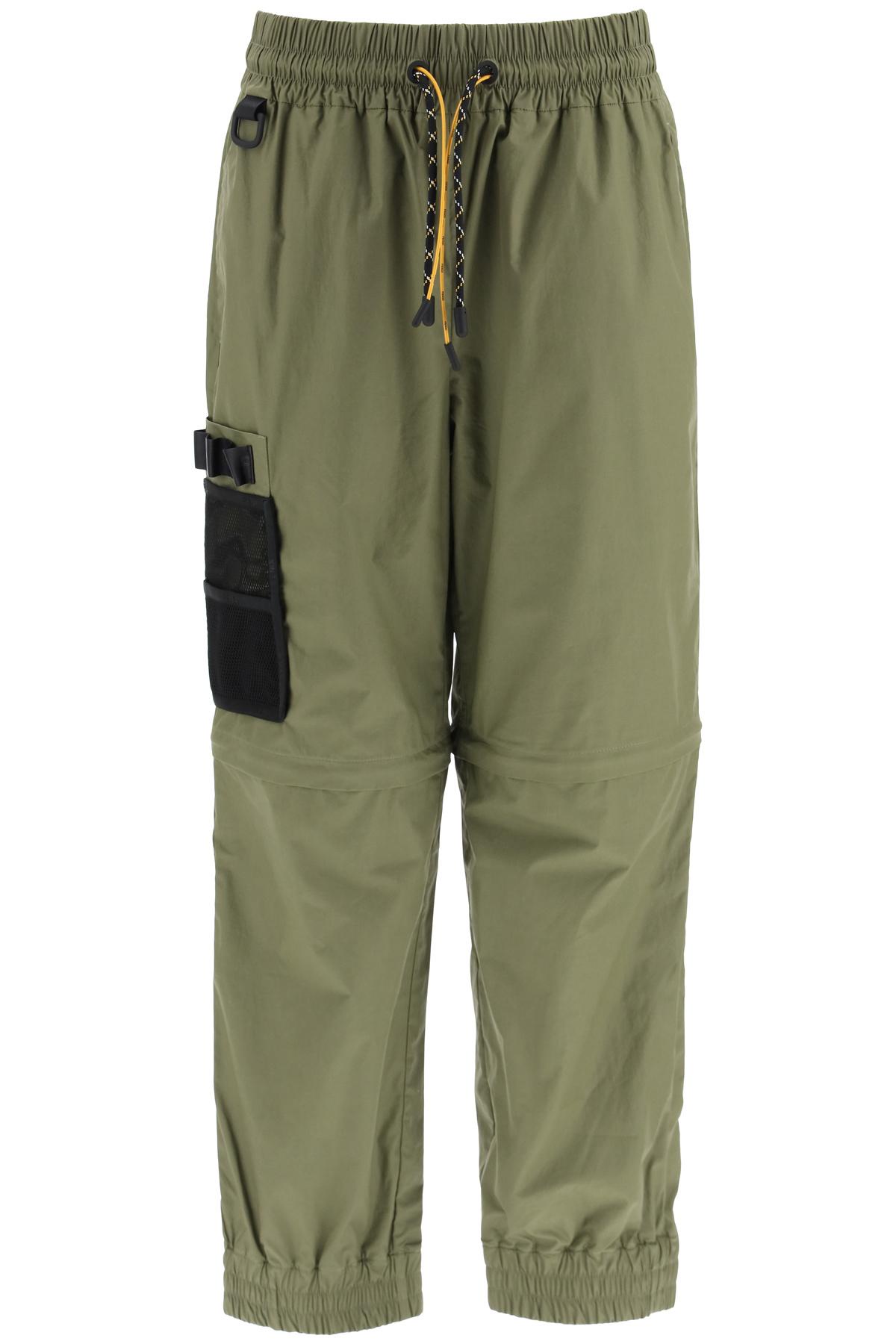 Fendi pantaloni jogging con tasca in mesh