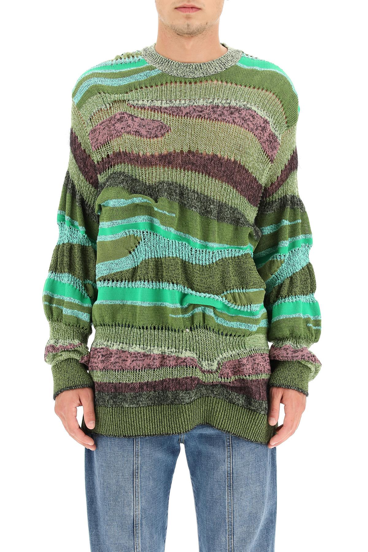 Kenzo pullover multi-righe