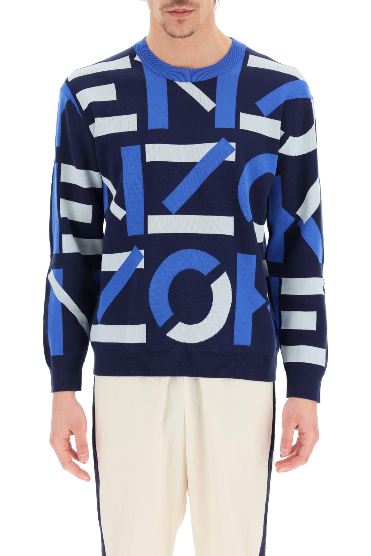 Kenzo pullover jacquard monogram