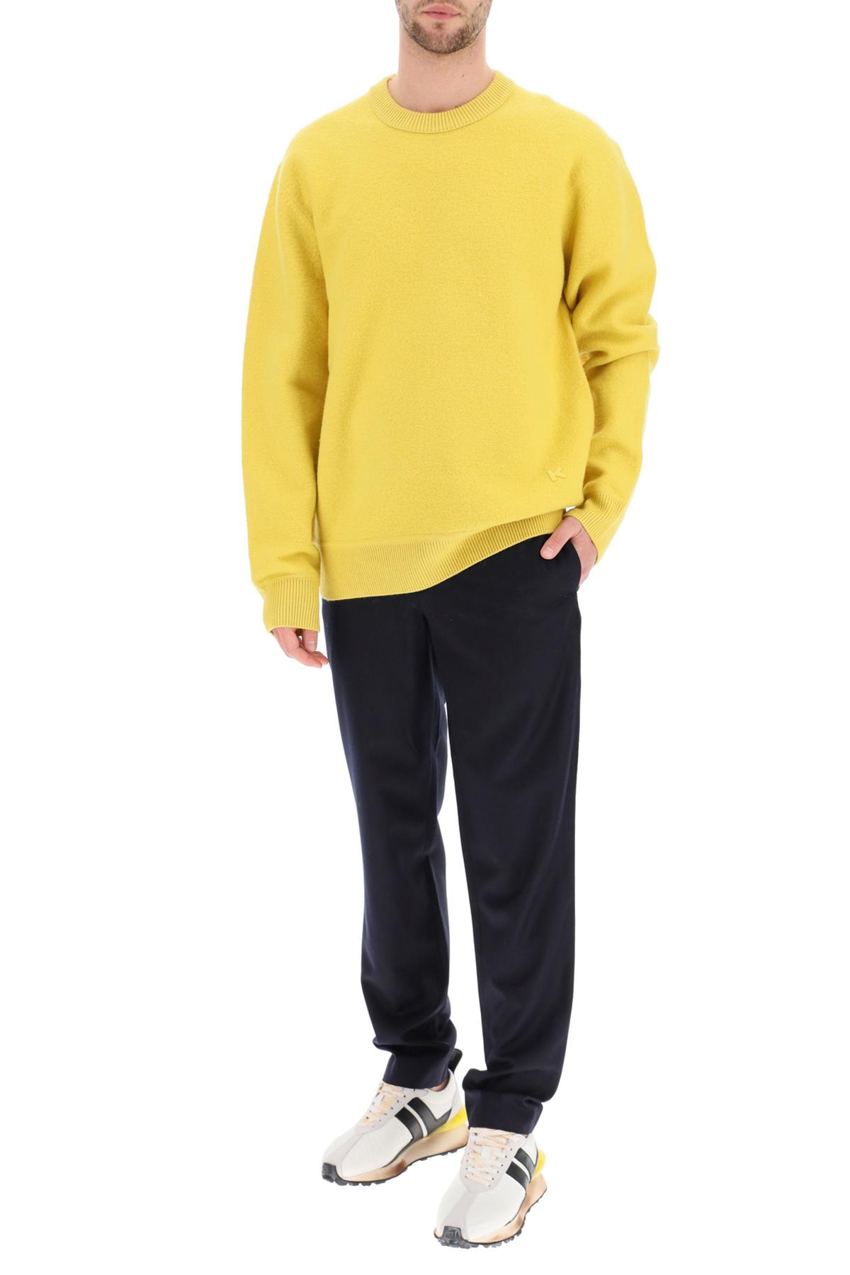 Kenzo pullover girocollo logo k