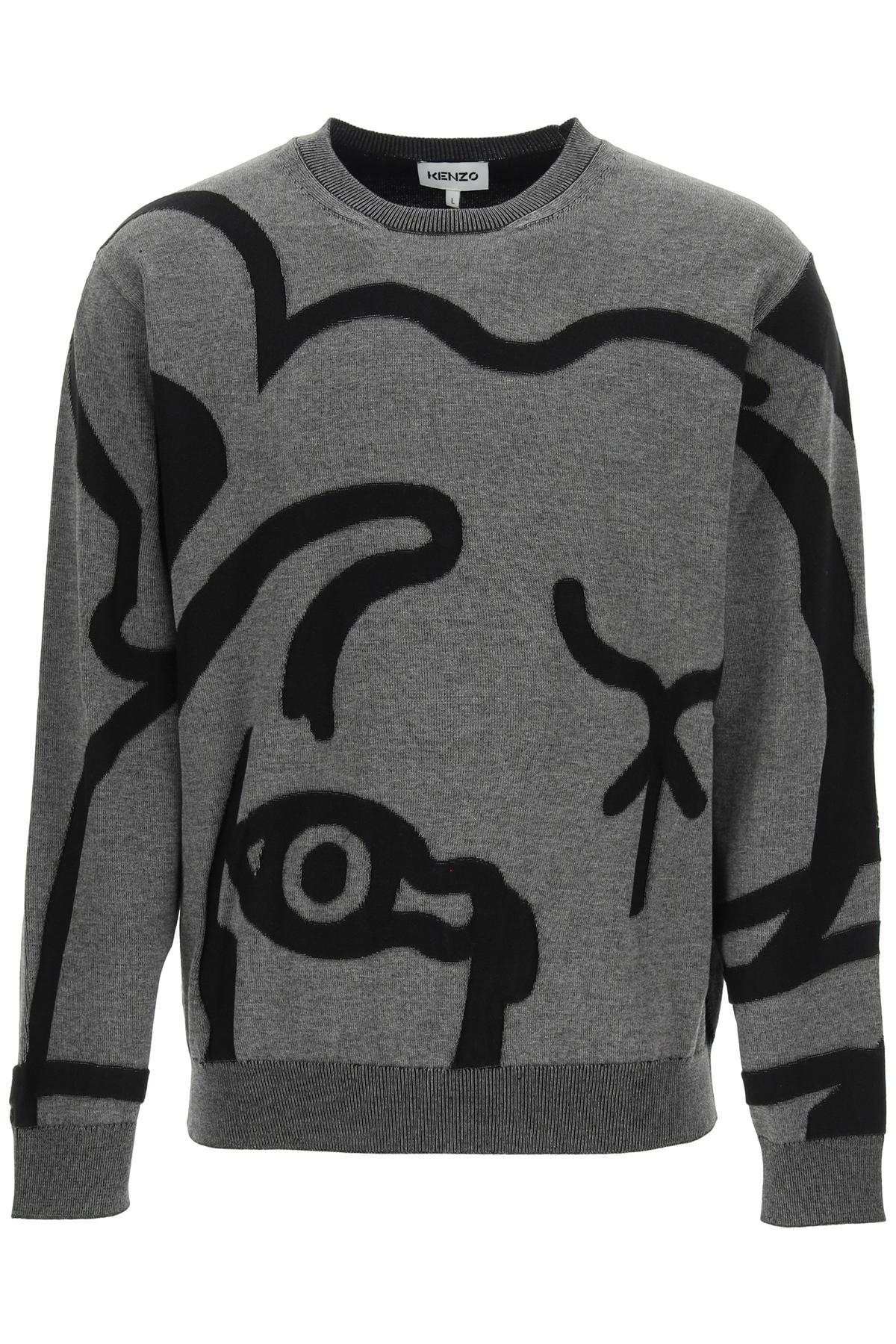 Kenzo maglione k-tiger