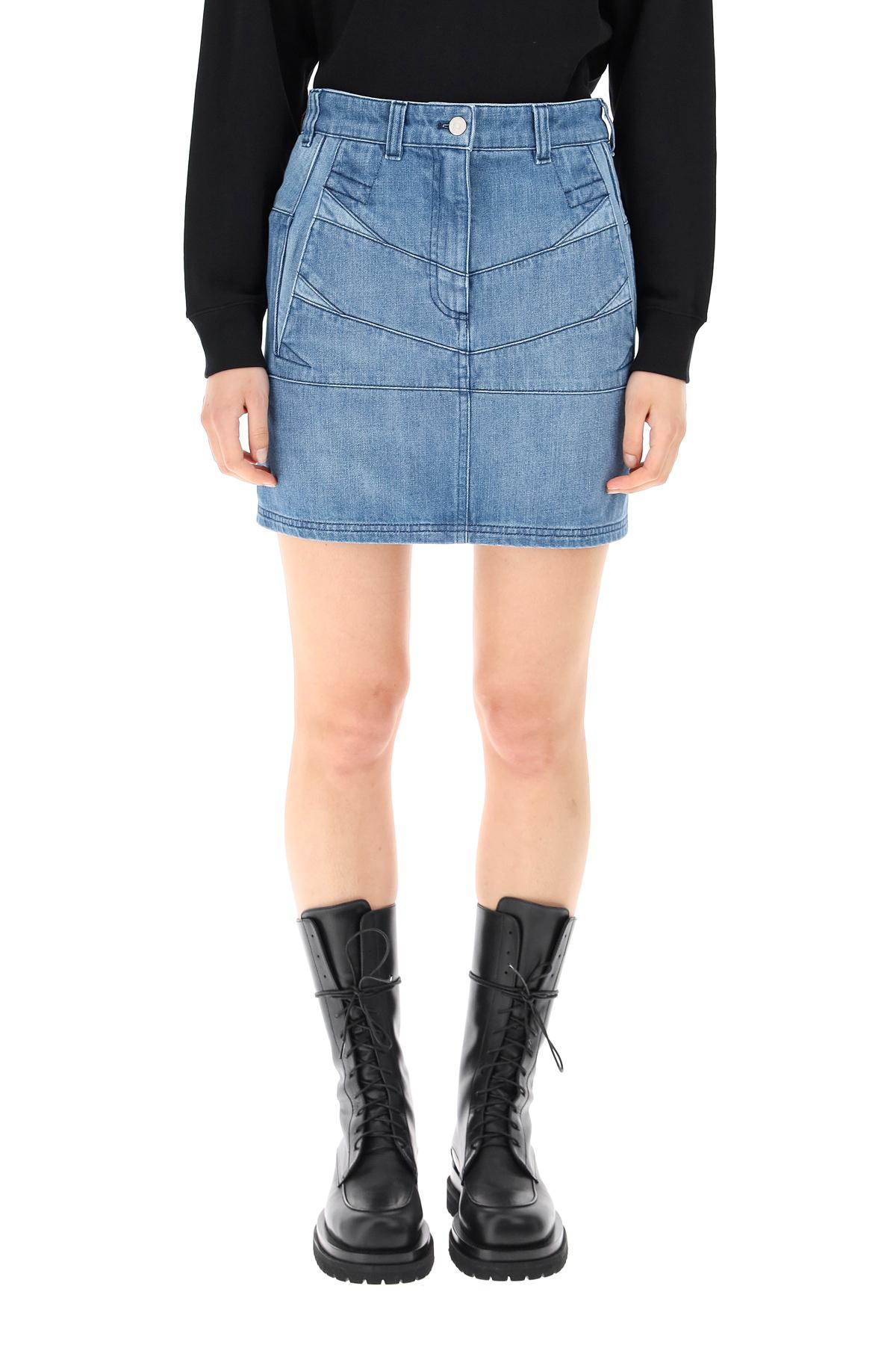Kenzo minigonna in denim