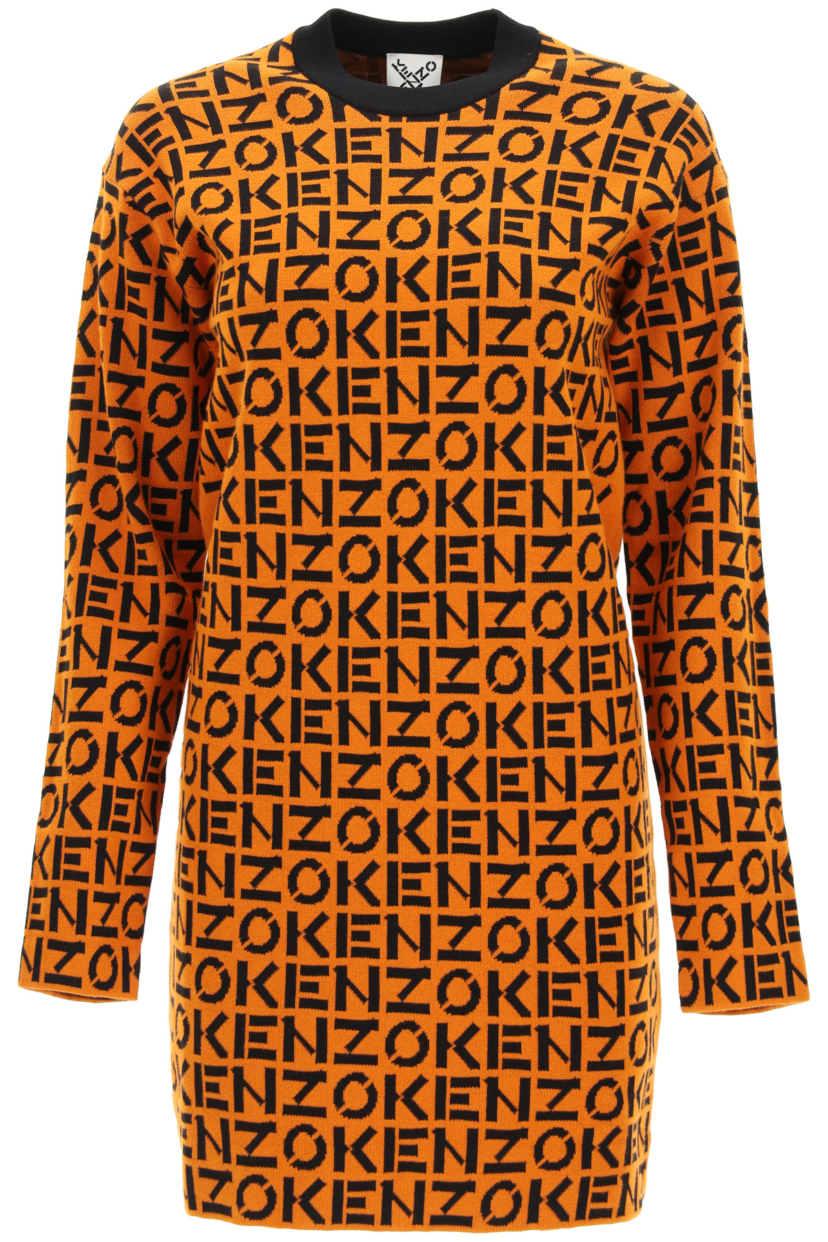 Kenzo miniabito monogramma kenzo sport
