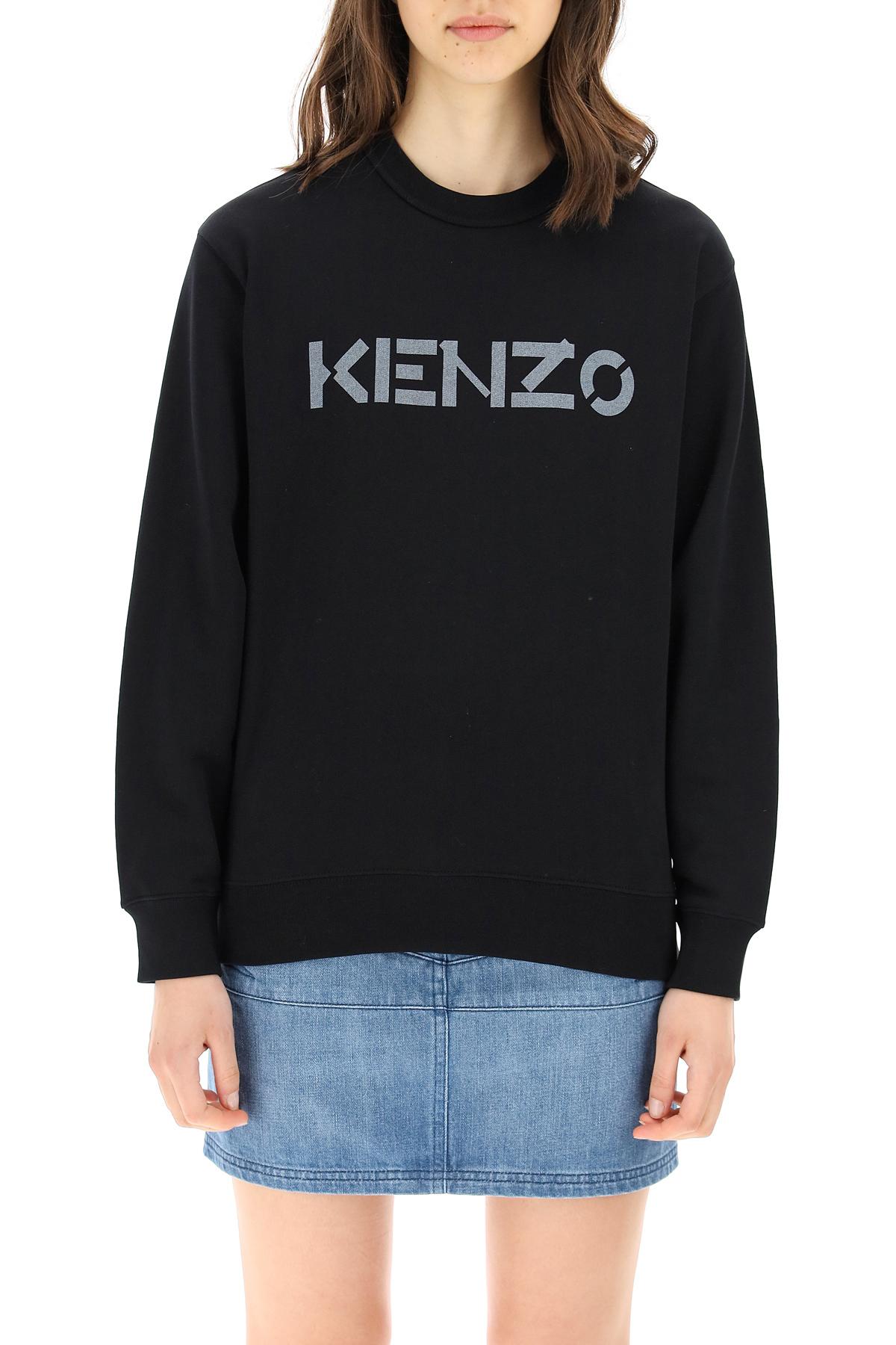 Kenzo felpa a girocollo con logo