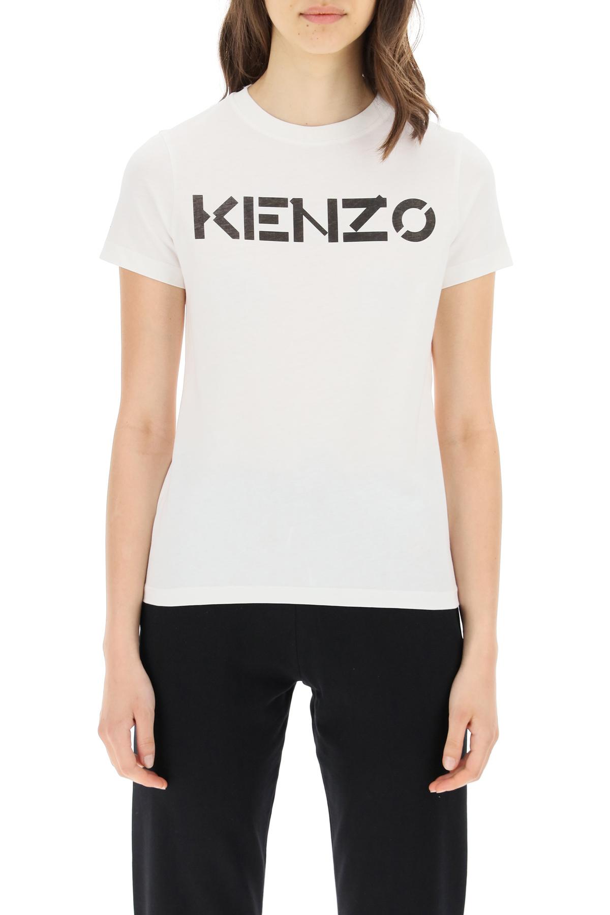 Kenzo t-shirt con stampa logo