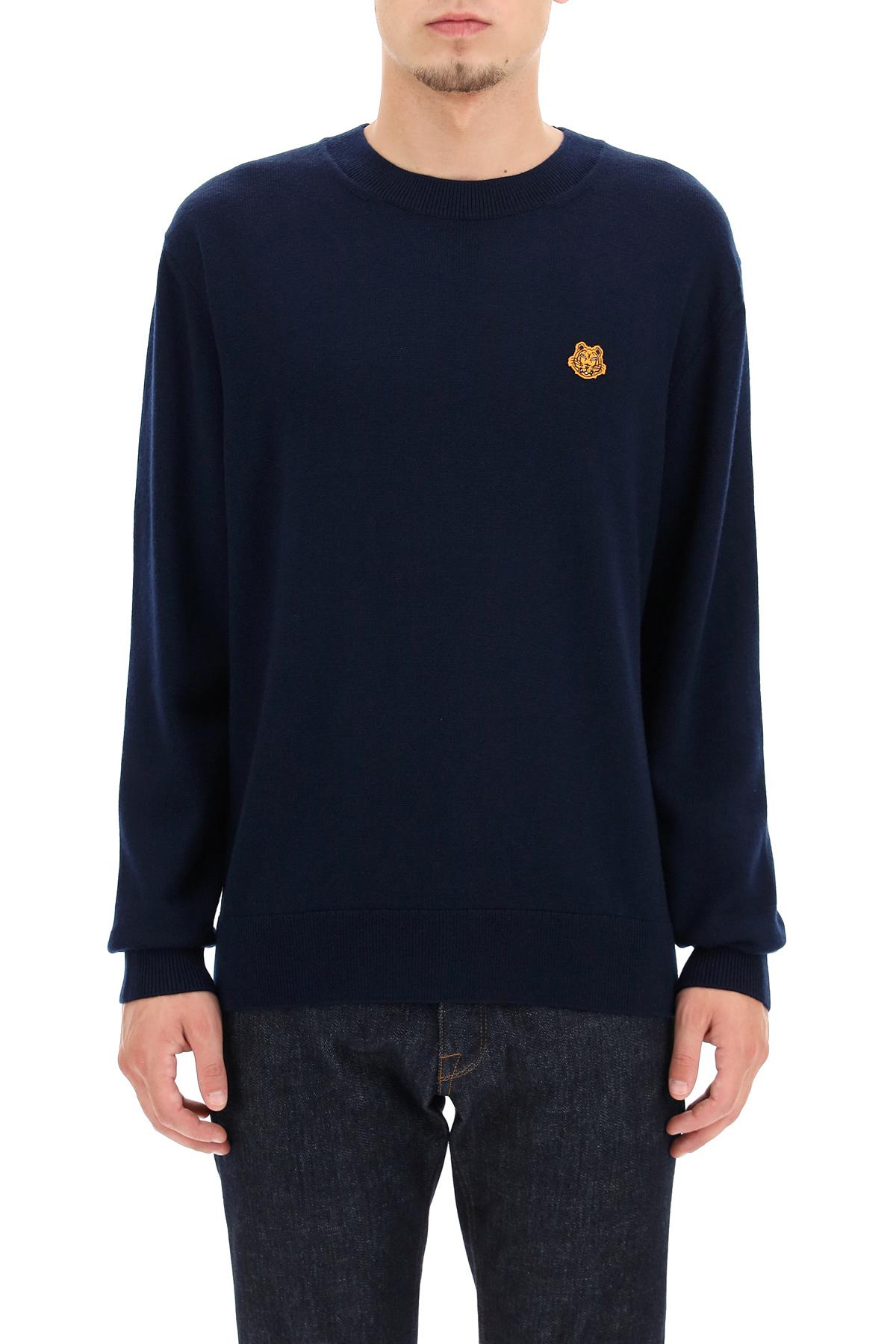 Kenzo maglione tiger crest