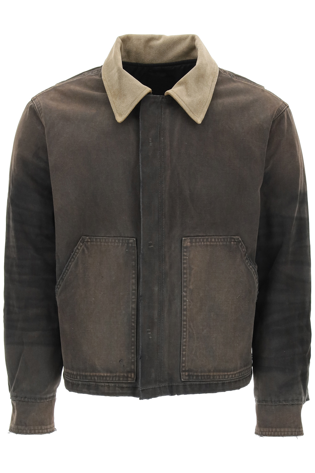 Fear of god jacket vintage in canvas