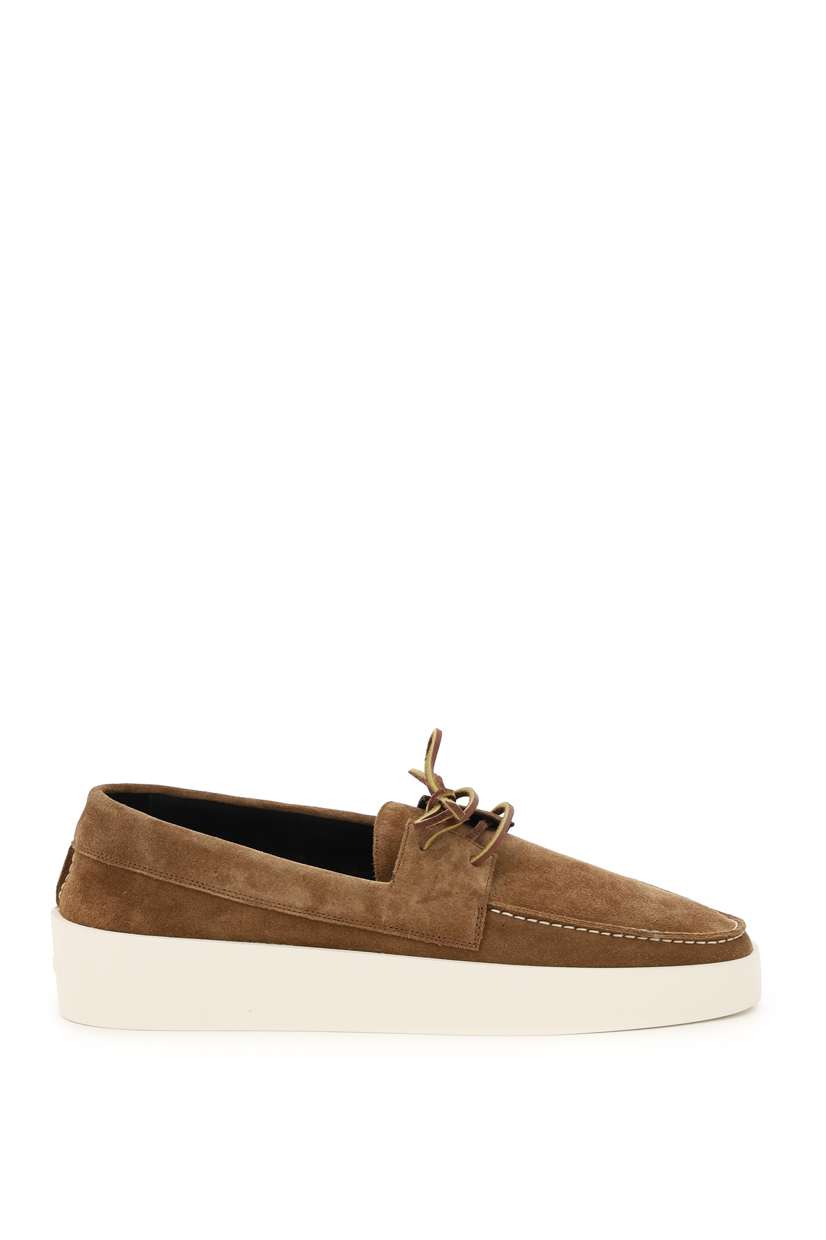 Fear of god mocassini boat in suede
