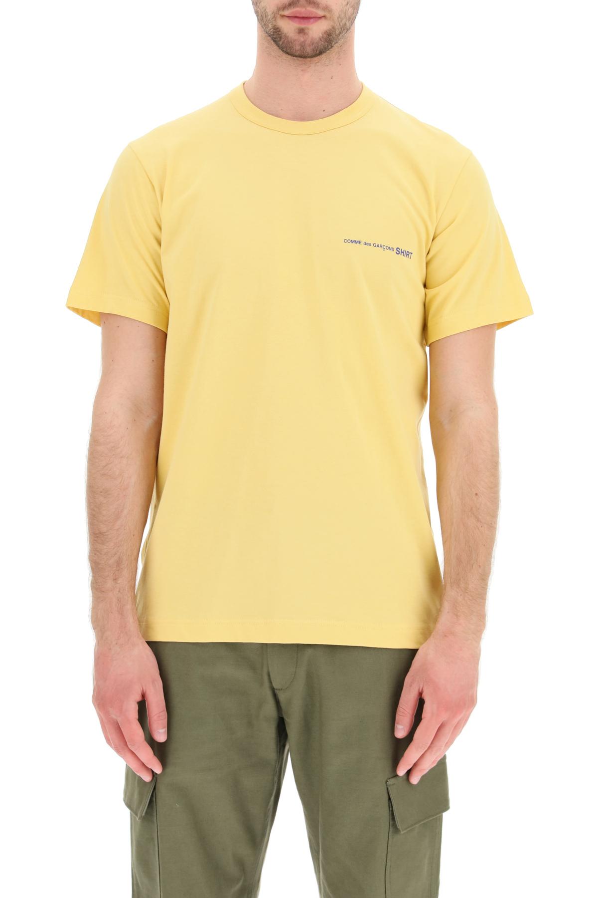 Comme des garcons shirt t- shirt basic con stampa logo