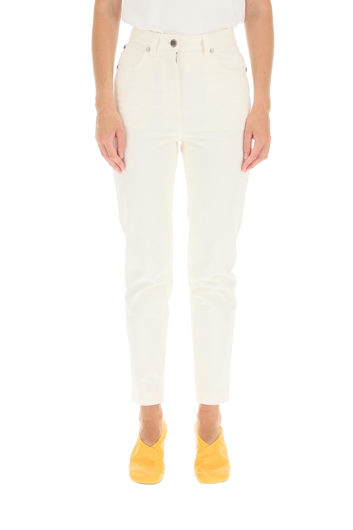 Fendi jeans denim con logo