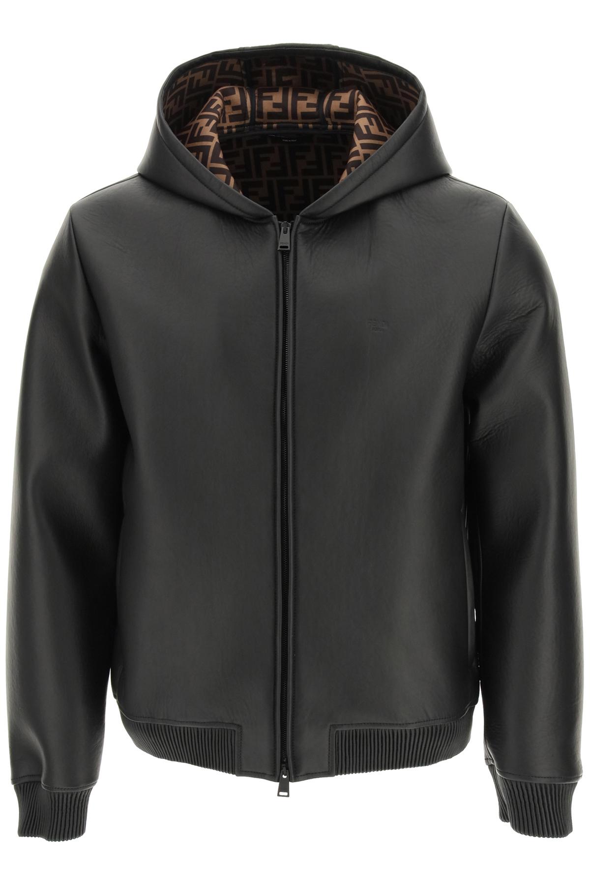 Fendi giacca in pelle
