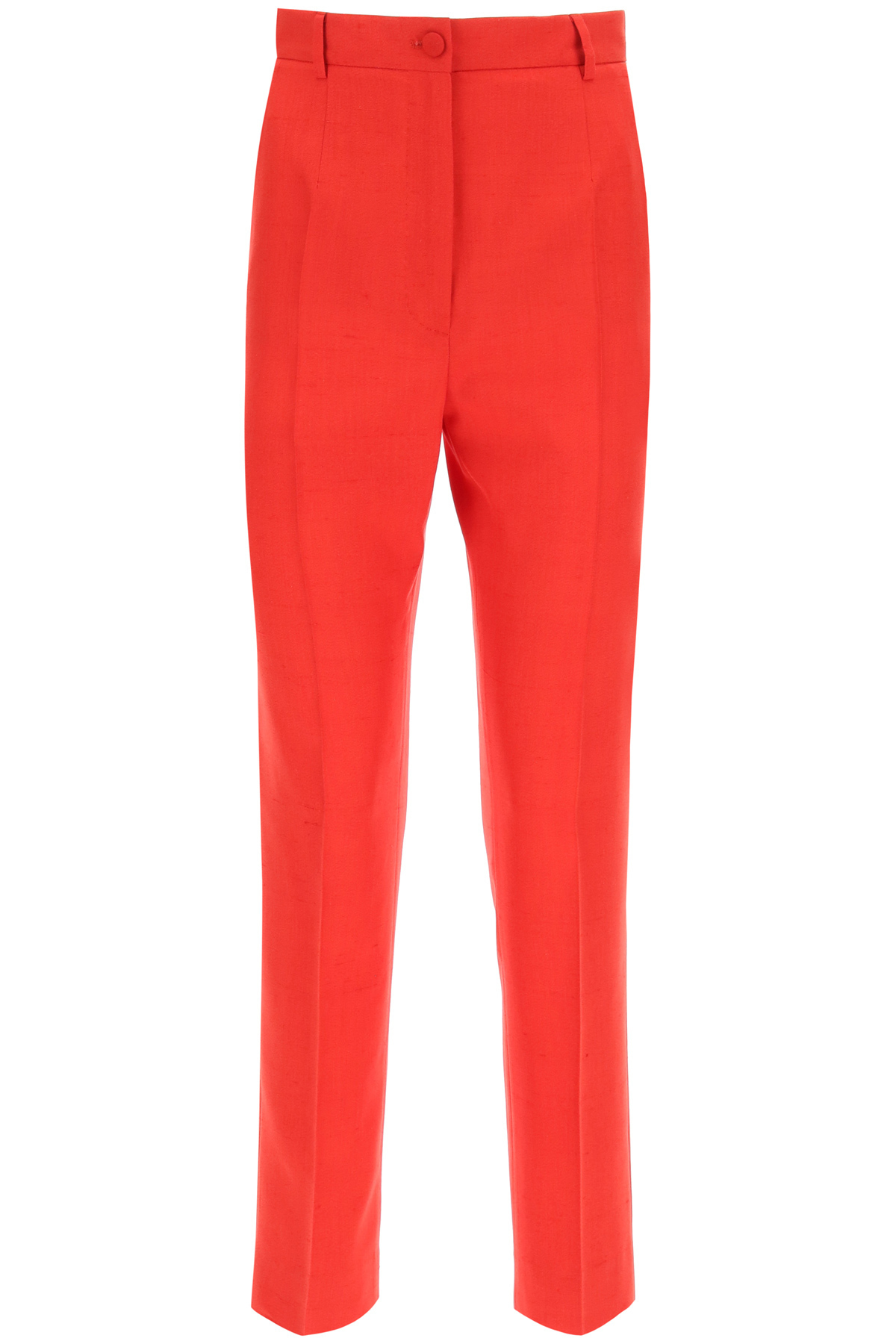 Dolce & gabbana pantaloni in tela schappe