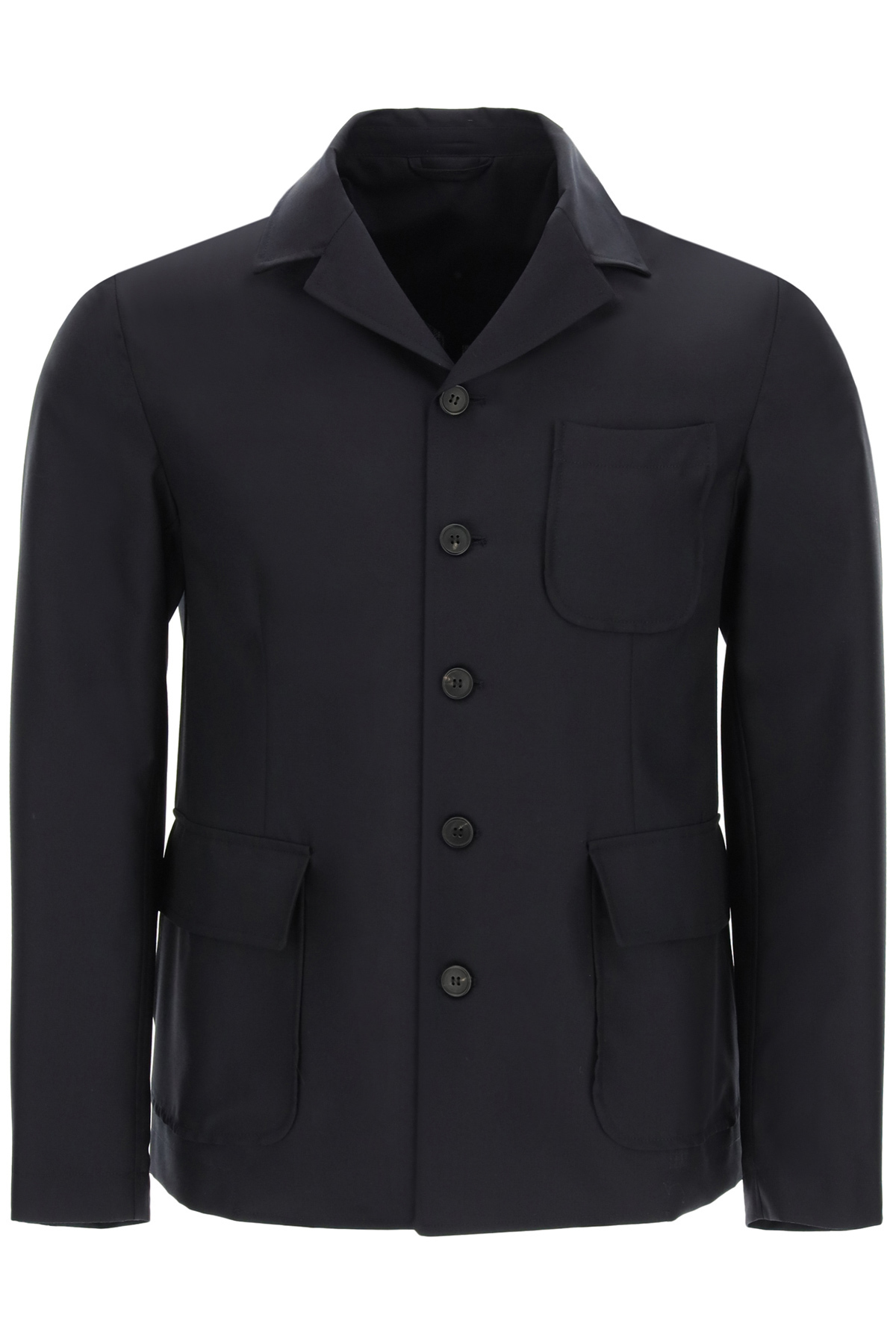 Gm77 blazer in tela di cotone