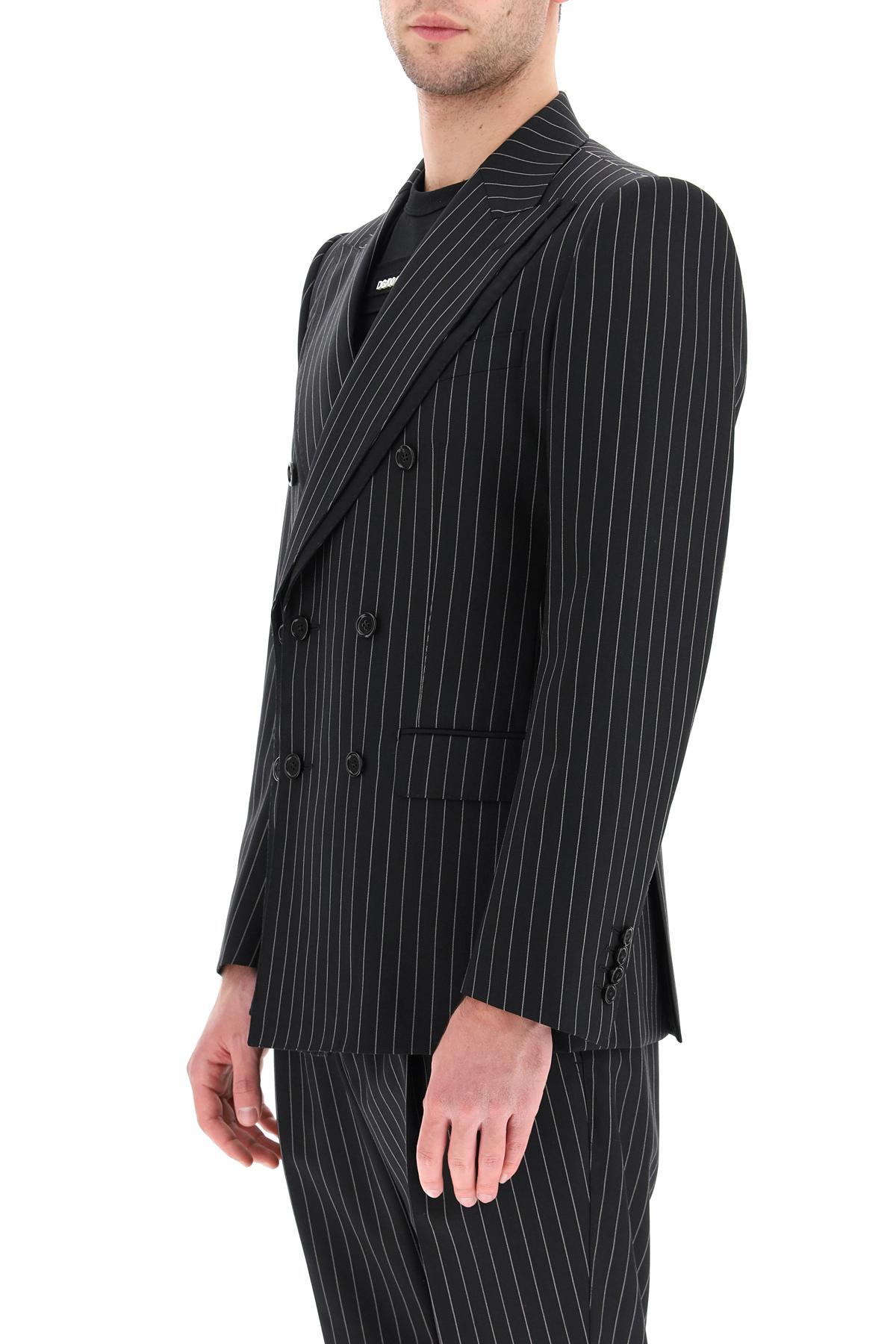 Dolce & gabbana blazer tailored in lana gessata