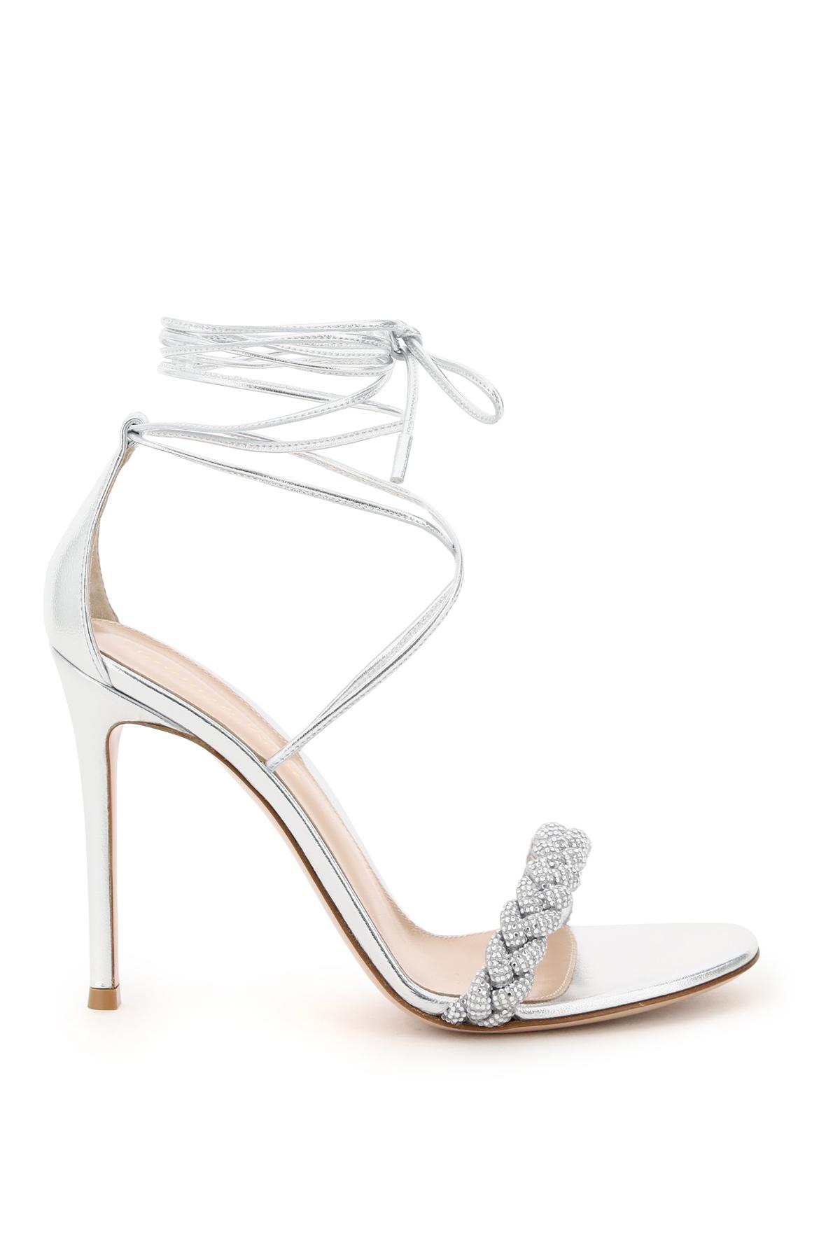 Gianvito rossi sandali crystal leomi